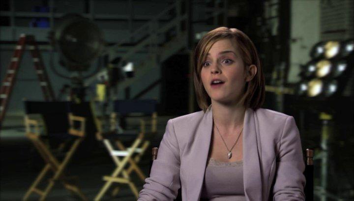 Emma Watson über die Dreharbeiten - OV-Interview Poster