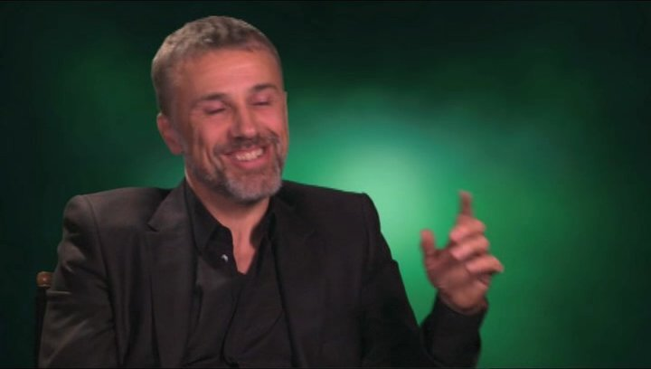 Christoph Waltz über was das Publikum erwarten kann - OV-Interview Poster