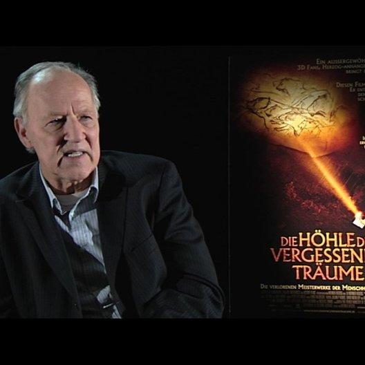 Werner Herzog über seinen ersten Höhlenbesuch - Interview Poster