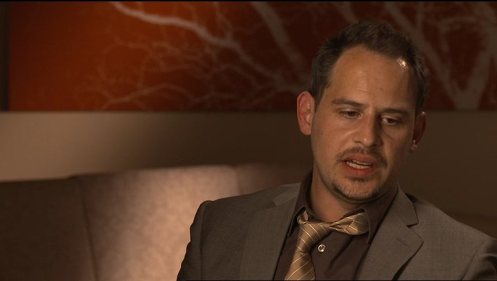 Moritz Bleibtreu (Deutscher Geschäftsmann) über Peter Morgan - OV-Interview Poster