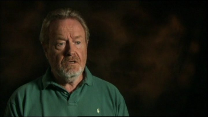 Interview mit Regisseur und Produzent Ridley Scott - OV-Interview Poster