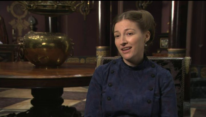 Kelly Macdonald über ihre Begeisterung für den Film - OV-Interview Poster