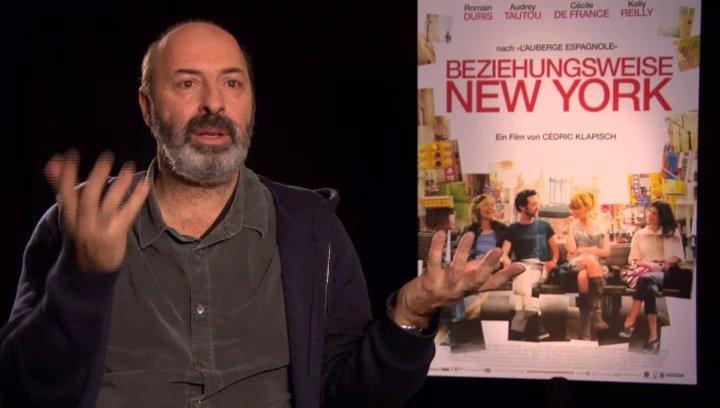 Cedric Klapisch - Regisseur - über die Stadt New York - OV-Interview Poster