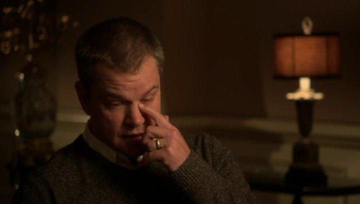 Matt Damon - Scott - über die Beziehung zwischen Liberace und Scott, Steven Soderbergh - OV-Interview Poster