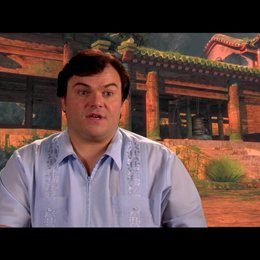 Jack Black (Originalstimme Po) über Po - OV-Interview Poster