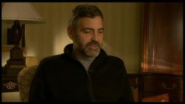 Interview mit George Clooney (Harry Pfarrer) - OV-Interview Poster