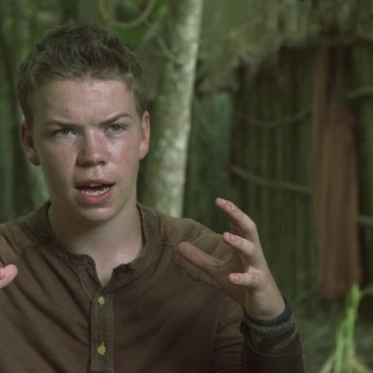 Will Poulter - Gally - über das Buch - OV-Interview Poster