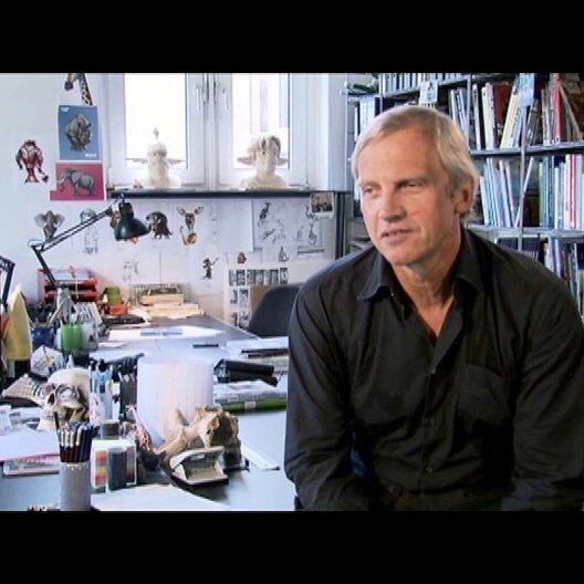 Reinhard Klooss ueber die Herausforderung der Produktion - Interview Poster