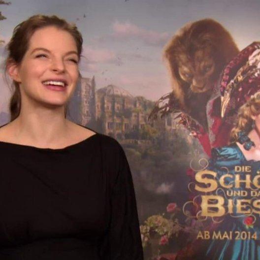 Yvonne Catterfeld - Prinzessin - über die Vorbereitung für das Casting - Interview Poster