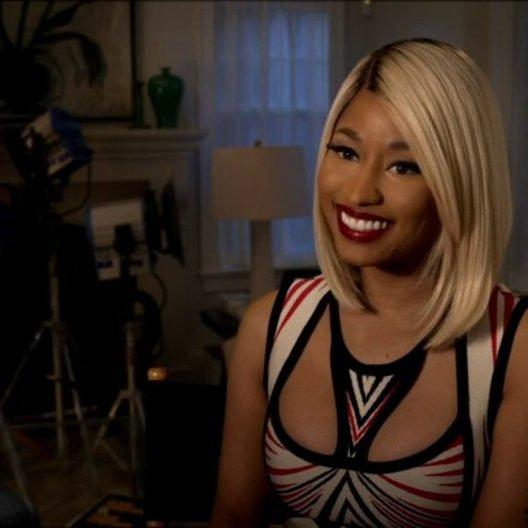 Nicki Minaj - Lydia - darüber, in jeder Szene eine andere Perücke zu tragen - OV-Interview Poster