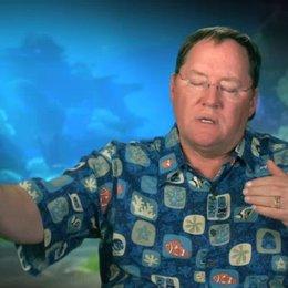 John Lasseter - Executive Director - darüber wie 3D die Geschichte unterstützt - OV-Interview Poster