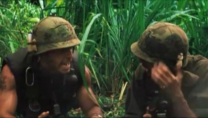 Tropic Thunder - Trailer Poster