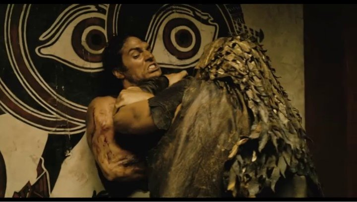 Theseus gegen Hyperion - Szene Poster