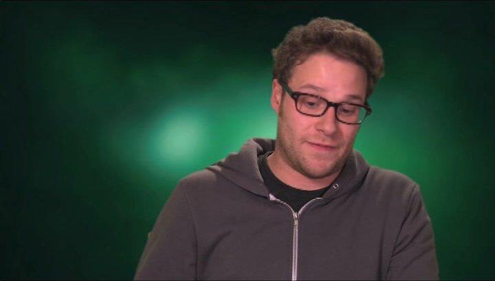 Seth Rogen über was den Film auszeichnet - OV-Interview Poster