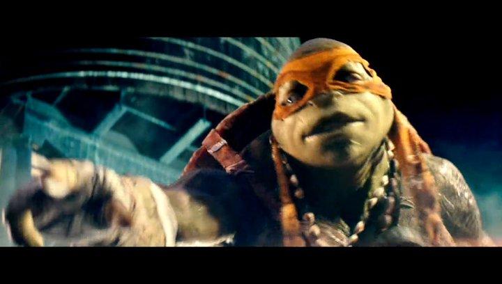 Teenage Mutant Ninja Turtles - Trailer Poster