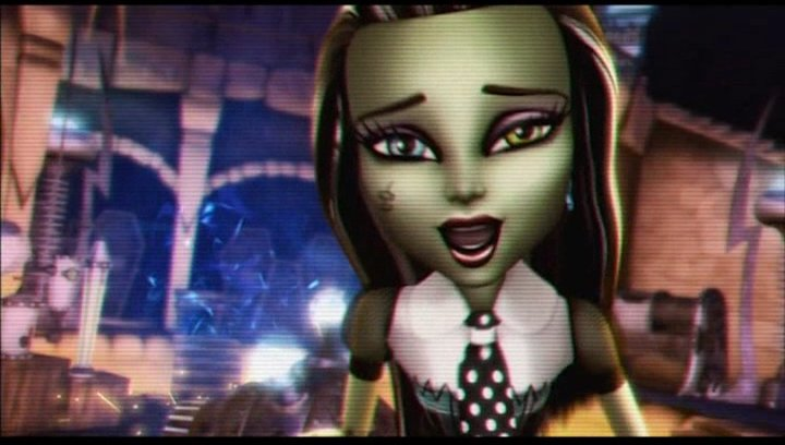 Monster High: Freaky Fusion - Trailer Poster
