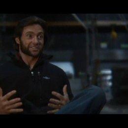 """Hugh Jackman - """"Wolverine"""", Produktion - OV-Interview Poster"""