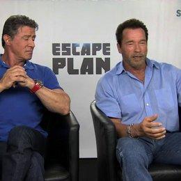 Stallone und Schwarzenegger über das Besondere des Films - OV-Interview Poster