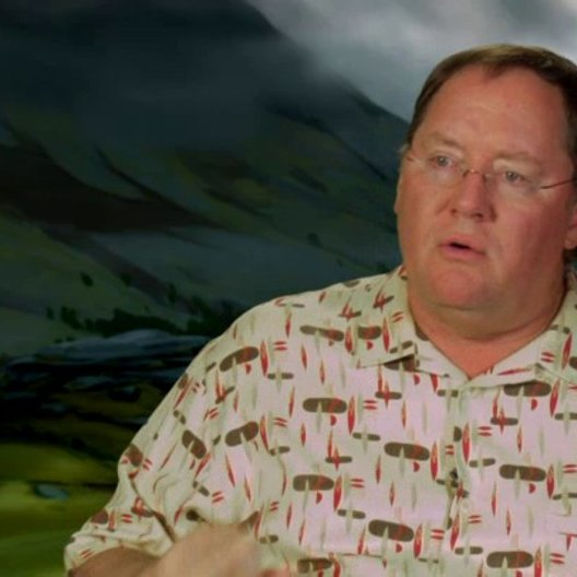 John Lasseter - Executive Producer - über Schottland - OV-Interview Poster