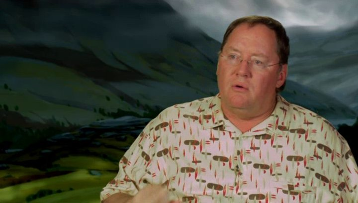 John Lasseter - Executive Producer - über Schottland - OV-Interview Poster