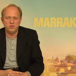 Ulrich Tukur - Heinrich - über Marokko - Interview Poster