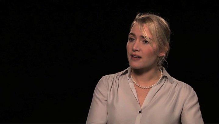 Kate Winslet über die Verfilmbarkeit des Stücks - OV-Interview Poster