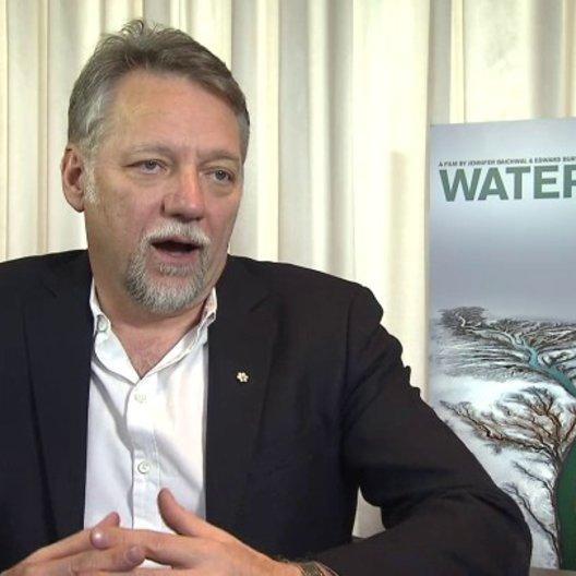 Edward Burtynsky - Regisseur - über die Projektarbeit zum Thema Wasser - OV-Interview Poster