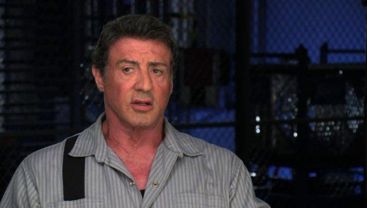 Sylvester Stallone über das Besondere des Films - OV-Interview Poster