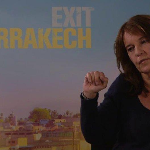 Caroline Link - Regisseurin - über Gefahren in Marokko - Interview Poster