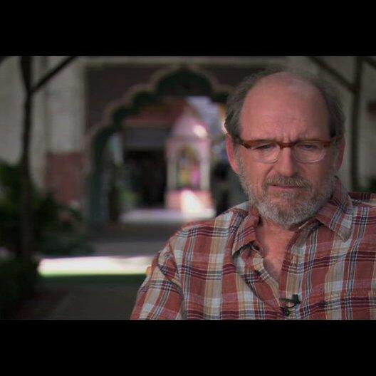 """Richard Jenkins (""""Richard aus Texas"""") über die Story - OV-Interview Poster"""