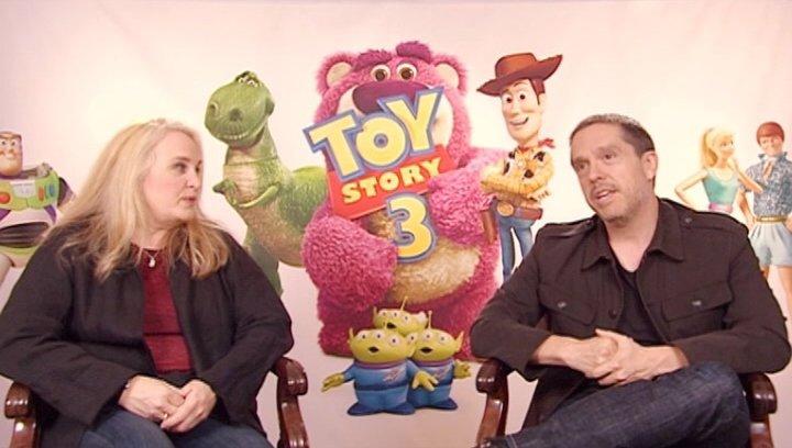 Lee Unkrich and Darla K Anderson über 3D - OV-Interview Poster
