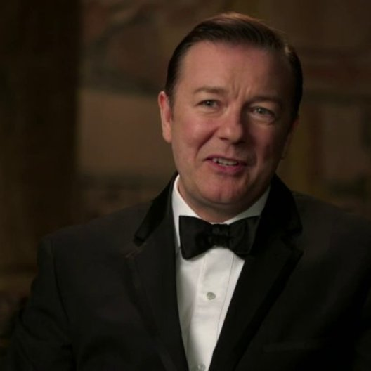 Ricky Gervais über die Arbeit mit Ben Stiller - OV-Interview Poster