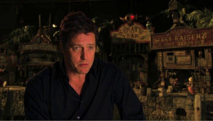 Hugh Grant über wieso er die Rolle annahm - OV-Interview Poster