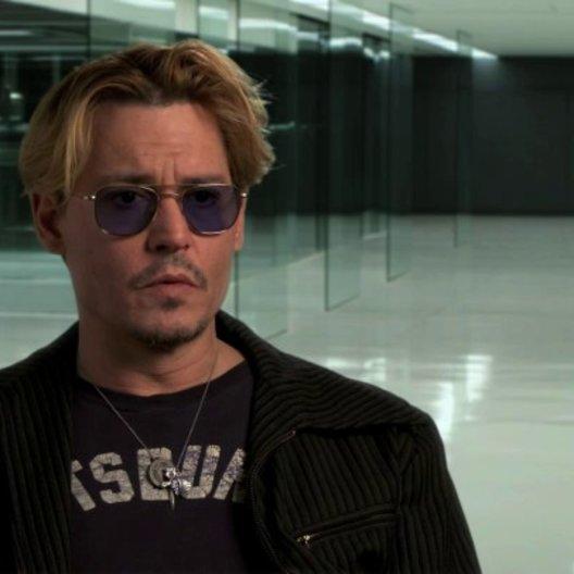 Johnny Depp über die Dynamik zwischen RIFT und seiner Figur - OV-Interview Poster