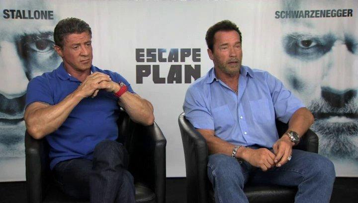 Stallone und Schwarzenegger über den richtigen Film für ein gemeinsames Projekt - OV-Interview Poster