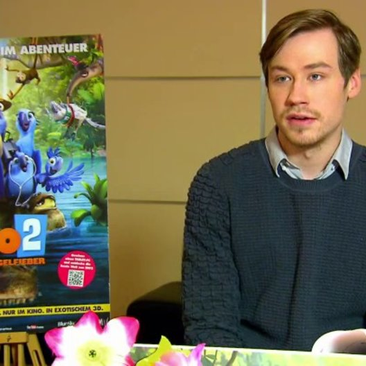 David Kross - Blu - über den Film - Interview Poster