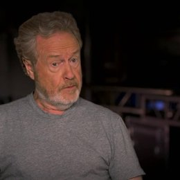 Ridley Scott darüber das Drehbuch präsentiert zu bekommen - OV-Interview Poster
