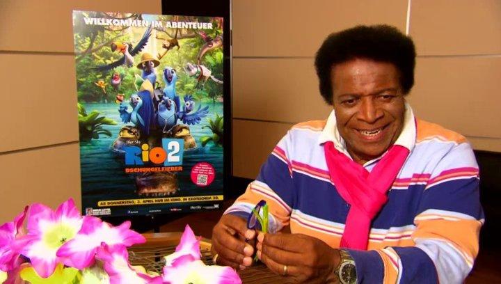 Roberto Blanco - Rafael - über seine Lieblingsszene - Interview Poster