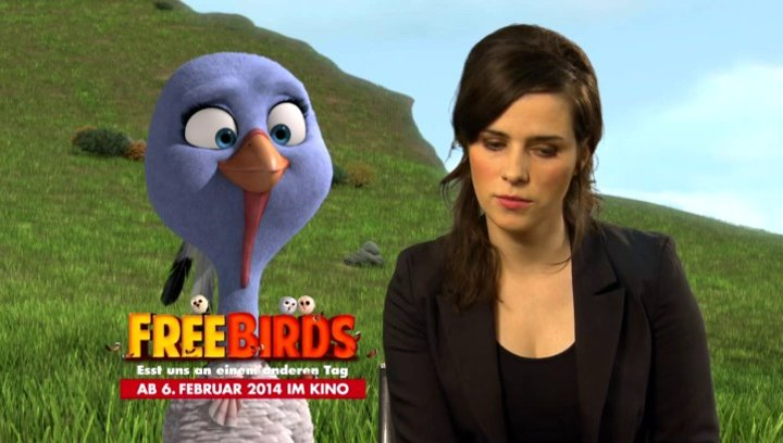Nora Tschirner - deutsche Stimme Jenny - über Reggie und Jenny - Interview Poster