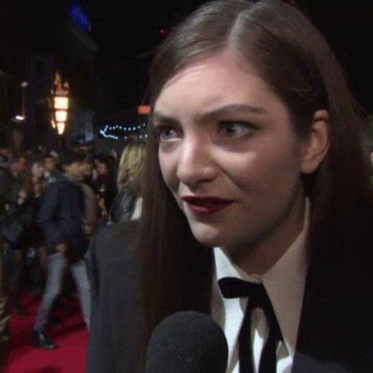 Lorde - London Premiere - Sonstiges Poster