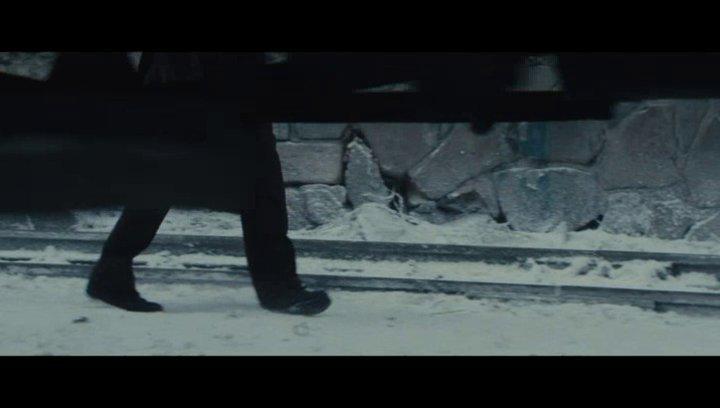 Der Mörder und das Kind an den Bahngleisen - Szene Poster
