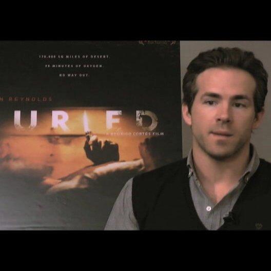 Ryan Reynolds über die Herausforderung - OV-Interview Poster