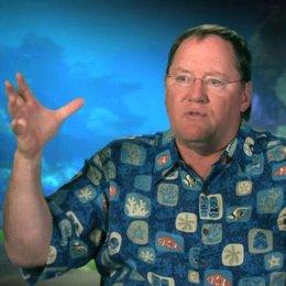 John Lasseter - Executive Director - über die visuellen Details - OV-Interview Poster