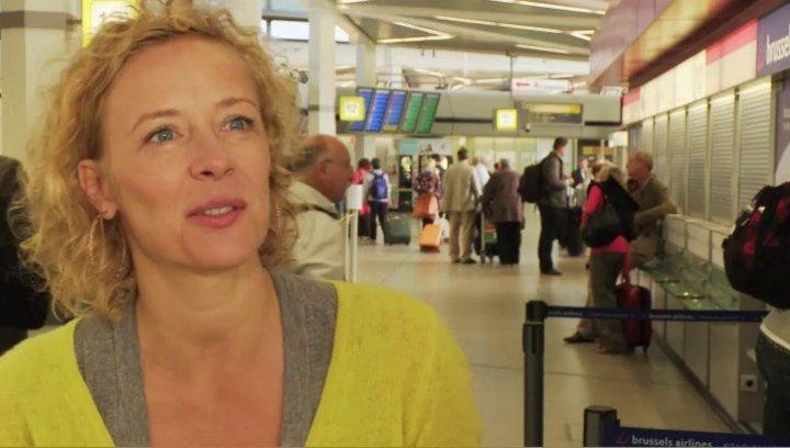 Katja Riemann Uschi über ihre Rolle - Interview Poster
