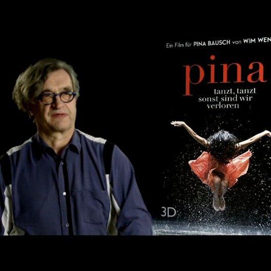 Wim Wenders (Regie) über das 3D Team - Interview Poster
