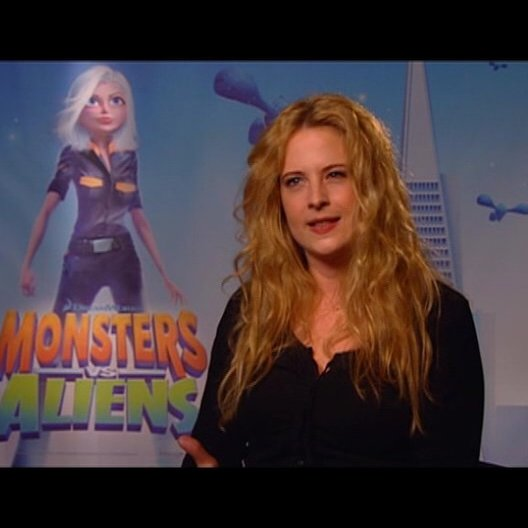 Diana Amft / über den Spass am Film MONSTERS vs ALIENS - Interview Poster