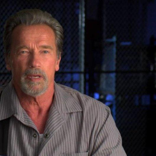Arnold Schwarzenegger über Regisseur Mikael Hafstroem - OV-Interview Poster