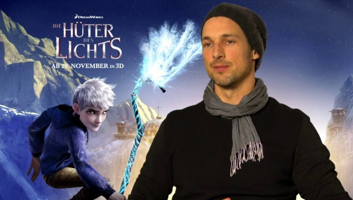 FLORIAN DAVID FITZ - Jack Frost - über seine Rolle Jack Frost - Interview Poster