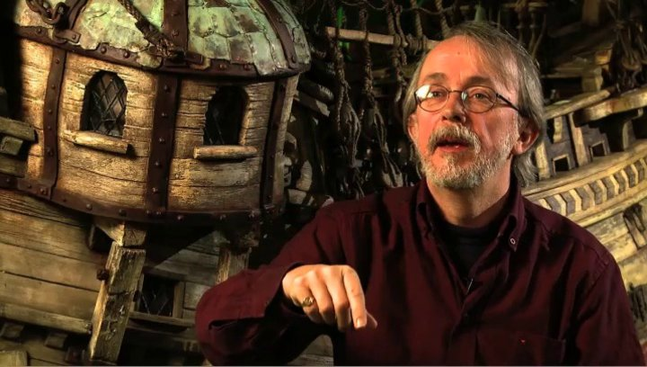 Peter Lord über den Animationsprozess - OV-Interview Poster