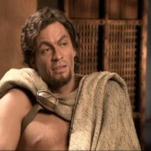 Dominic West (Theron) über die Spartaner. - OV-Interview Poster